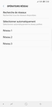 Samsung Galaxy Note9 - Réseau - Sélection manuelle du réseau - Étape 10