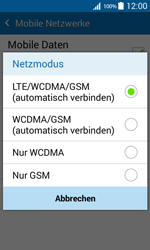 Samsung G360F Galaxy Core Prime - Netzwerk - Netzwerkeinstellungen ändern - Schritt 7