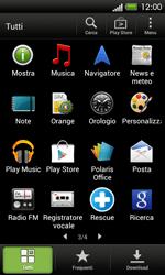 HTC One SV - Applicazioni - Configurazione del negozio applicazioni - Fase 3