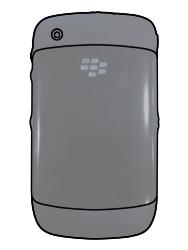 BlackBerry 8520 Curve - SIM-Karte - Einlegen - Schritt 2