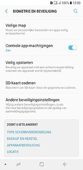 Samsung galaxy-a6-sm-a600fn-ds - Beveiliging en ouderlijk toezicht - Hoe wijzig ik mijn SIM PIN-code - Stap 5