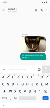 OnePlus 7T Pro - Contact, Appels, SMS/MMS - Envoyer un MMS - Étape 16