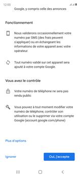 Samsung Galaxy S20 FE - Applications - Créer un compte - Étape 14