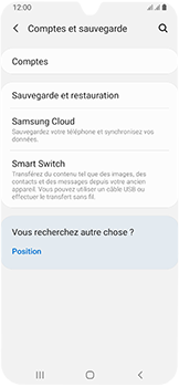Samsung Galaxy A40 - Aller plus loin - Gérer vos données depuis le portable - Étape 8