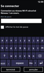 Nokia Lumia 900 - Wifi - configuration manuelle - Étape 6
