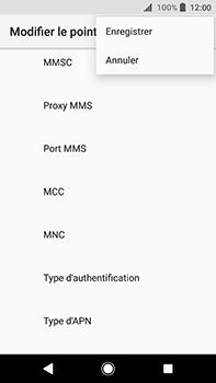 Sony Xperia XA2 Ultra - MMS - Configuration manuelle - Étape 15