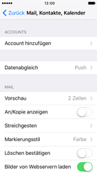 Apple iPhone 5c iOS 9 - E-Mail - Manuelle Konfiguration - Schritt 4