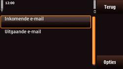 Nokia N97 Mini - e-mail - handmatig instellen - stap 22