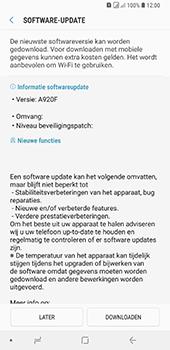 Samsung Galaxy A9 (2018) - software - update installeren zonder pc - stap 7