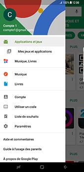 Samsung Galaxy S8 Plus - Applications - Comment vérifier les mises à jour des applications - Étape 5