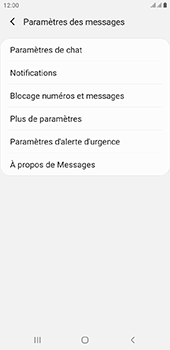 Samsung Galaxy J4 Plus - SMS - configuration manuelle - Étape 6