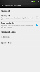 HTC One Max - Internet e roaming dati - Configurazione manuale - Fase 6