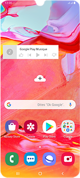 Samsung Galaxy A70 - Applications - Personnaliser l