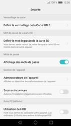 Huawei P9 Lite - Sécuriser votre mobile - Activer le code de verrouillage - Étape 6