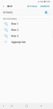 Samsung Galaxy Note9 - WiFi - Configurazione WiFi - Fase 7