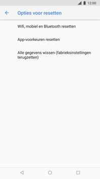 Nokia 8 Sirocco - toestel resetten - fabrieksinstellingen terugzetten - stap 6