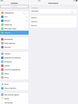 Apple iPad Pro - Netwerk - Handmatig netwerk selecteren - Stap 9