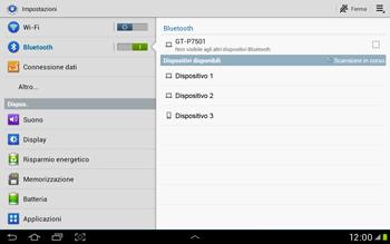 Samsung Galaxy Tab 2 10.1 - Bluetooth - Collegamento dei dispositivi - Fase 6