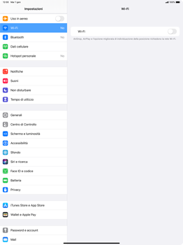 Apple iPad Pro 12.9 (2018) - ipados 13 - WiFi - Configurazione WiFi - Fase 4