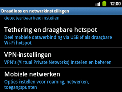 Samsung B5510 Galaxy TXT - Internet - Handmatig instellen - Stap 5