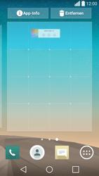 LG Spirit 4G - Startanleitung - Installieren von Widgets und Apps auf der Startseite - Schritt 6