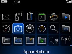 BlackBerry 8520 - Photos, vidéos, musique - Prendre une photo - Étape 3