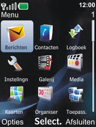Nokia 6600i slide - E-mail - Handmatig instellen - Stap 3
