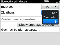 BlackBerry 9360 Curve - bluetooth - aanzetten - stap 7