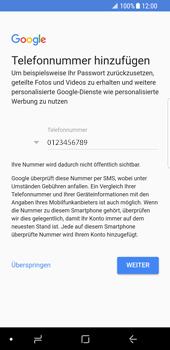 Samsung Galaxy S8 - Android Oreo - Apps - Einrichten des App Stores - Schritt 14