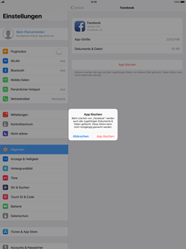 Apple iPad Pro 12.9 inch - Apps - Apps deinstallieren - 6 / 7