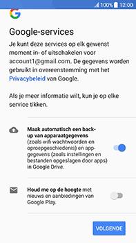 HTC U11 (2PZC100) - Applicaties - Account aanmaken - Stap 18