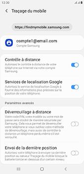 Samsung Galaxy J4 Plus - Appareil - configurer Localiser mon appareil - Étape 8