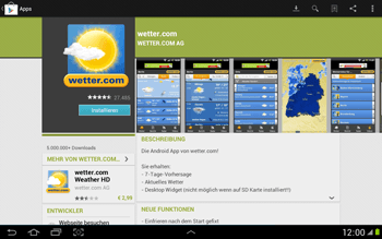Samsung Galaxy Note 10-1 - Apps - Herunterladen - 13 / 22