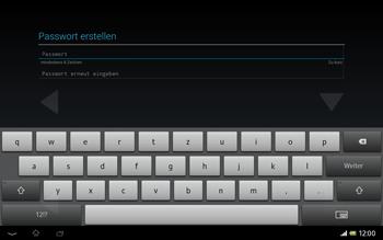 Sony Xperia Tablet Z LTE - Apps - Konto anlegen und einrichten - Schritt 11