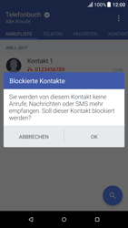 HTC One A9 - Anrufe - Anrufe blockieren - 0 / 0