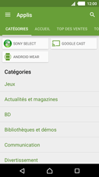 Sony Xperia M4 Aqua - Applications - Télécharger une application - Étape 6