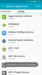 Samsung Galaxy S6 Edge - Applicazioni - Come disinstallare un