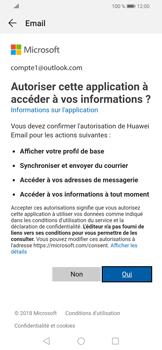 Huawei P Smart (2019) - E-mails - Ajouter ou modifier votre compte Outlook - Étape 7