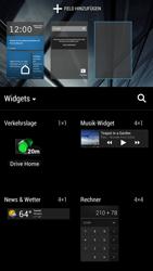 HTC One - Startanleitung - Installieren von Widgets und Apps auf der Startseite - Schritt 7