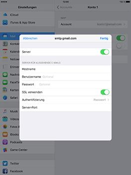 Apple iPad Mini 4 - E-Mail - Konto einrichten - 21 / 32
