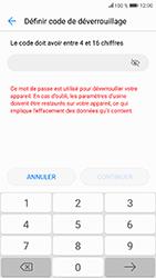 Honor 9 - Sécuriser votre mobile - Activer le code de verrouillage - Étape 6