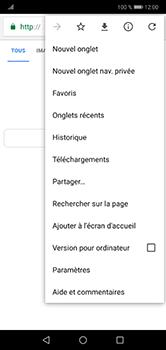 Huawei P20 Lite - Internet et roaming de données - Navigation sur Internet - Étape 8