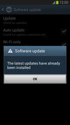 Samsung Galaxy Note II - Software - Installing software updates - Step 10