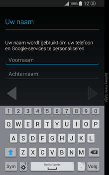Samsung Galaxy Note Edge - apps - account instellen - stap 5