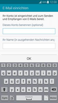 Samsung Galaxy Note 4 - E-Mail - Manuelle Konfiguration - Schritt 18
