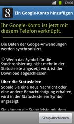 Samsung Galaxy S - Apps - Konto anlegen und einrichten - 18 / 21