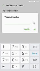 Samsung Galaxy Xcover 4 - Voicemail - Manual configuration - Step 9