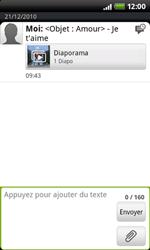 HTC A7272 Desire Z - MMS - envoi d