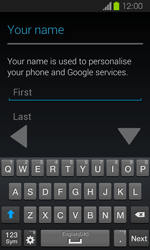 Samsung Galaxy Express - Applications - Setting up the application store - Step 5