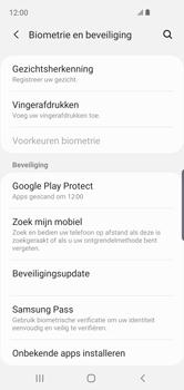 Samsung Galaxy S10e - Beveiliging en privacy - zoek mijn mobiel activeren - Stap 5